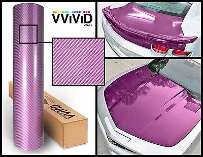Purple carbon hi gloss tech art laminated vinyl car wrap 100ft x 5ft 3 layer DIY