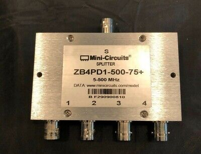 Mini-circuits Zb4pd1-500-75 Power Splitter