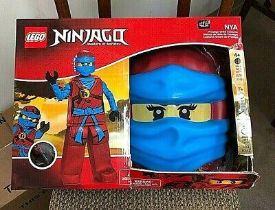 Ninjago Nya Halloween Costumes (Lego Nya Prestige Ninjago Masters Of Spinjitzu Costume Small 4-6 NIB)
