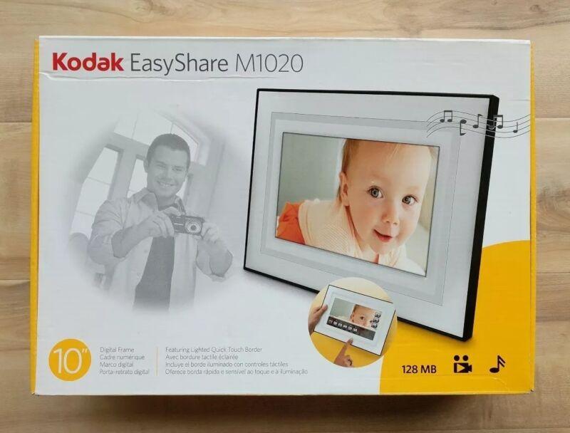 "Kodak EasyShare M1020 10"" Digital Picture Frame"