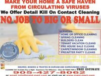 Essential Services - Cleaning & Disinfecting Homes Buildings