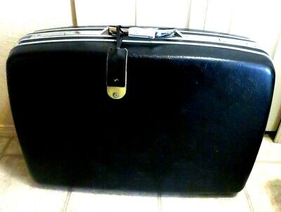 Vintage Samsonite Silhouette II Hard-Sided Rolling Suitcase Luggage 28 X 21 Blk