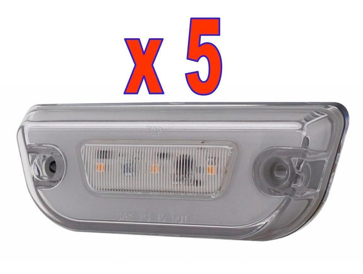 glo cab lights 11 led for kenworth t680 peterbilt 579. Black Bedroom Furniture Sets. Home Design Ideas