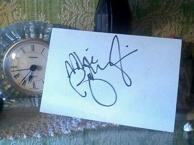 """Mike Birbiglia"" signed index card!/Comedian!!!"