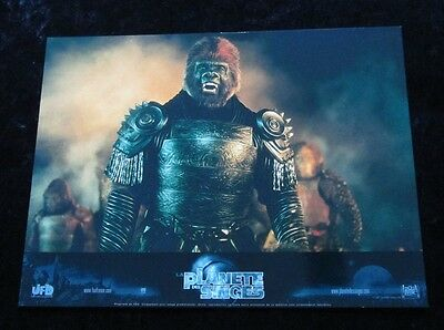 PLANET OF THE APES Lobby Cards MARK WAHLBERG, TIM BURTON - French Set of 12
