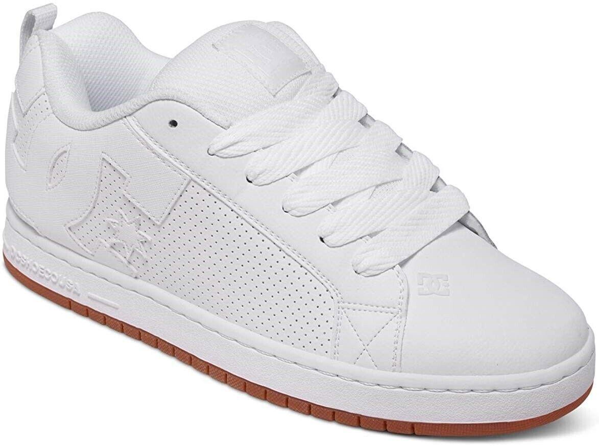 dc men s court graffik skate shoe