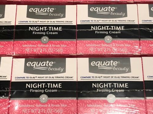 Lot of 4 Equate Beauty Night-Time Firming Cream 2 fl oz
