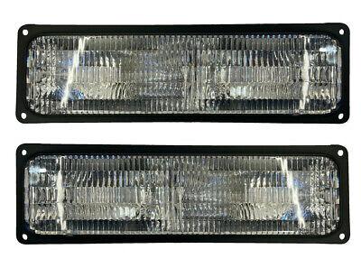 Turn Signal Light Set For 94-99 Chevy GMC Yukon Suburban OE Style Lens LH & RH  Chevy Suburban Turn Signal
