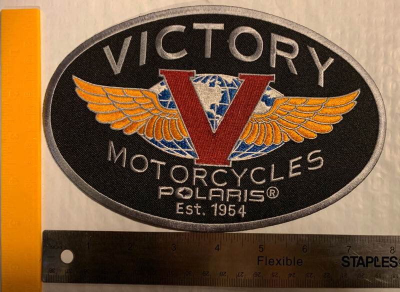 Victory Motorcycle Tank Badge Patch