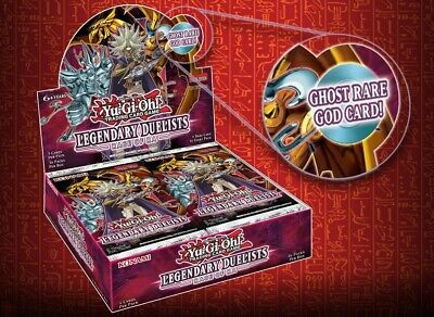 YU-GI-OH! LEGENDARY DUELISTS: RAGE OF RA BOOSTER BOX,