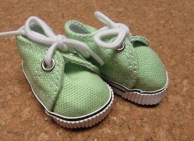 Ann E Doll Shoes Patsy 48mm Lt Blue Sneaker fit Bitty Bethany