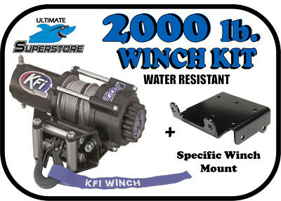 KFI 2000 lb. Winch Mount Kit ''02-'07 Suzuki Eiger 400