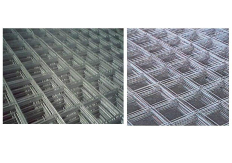 RETE ELETTROSALDATA NERA solaio cemento recinzione cm 200x150 ferro tondino mm 5