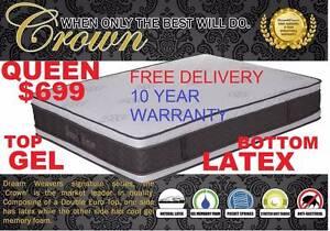 NEW QUEEN, KING, DOUBLE MATTRESS PILLOW TOP. RENT KEEP $9.45PW Ipswich Region Preview