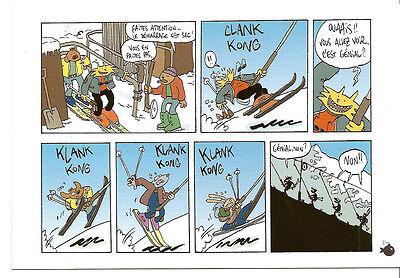 TRONDHEIM: LAPINOT. Carte publicitaire (2007) Slaloms