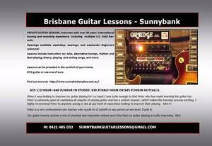 Always wish you had? Guitar Lessons w/ Award Winning Guitarist Sunnybank Brisbane South West Preview