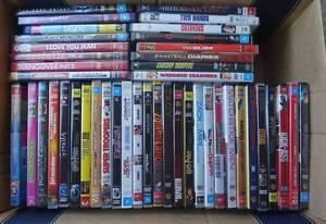 Box of assorted DVDs #1 Newington Ballarat City Preview
