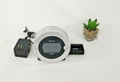 Sony ICF-CD31P Dream Machine CD IPod Am/ Fm Radio Alarm Clock ICF-CD31P