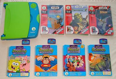 Leap Frog LeapPad Learning System 1st 2nd 3rd Grade Reading Science Music 6+