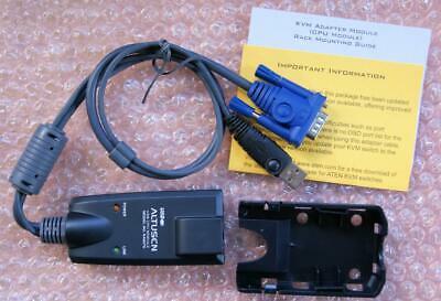 Aten Altusen USB CPU Module KA9570 KVM Adapter Cable with Rack Mount Kit New Aten Usb Cpu Adapter