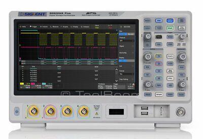 Siglent Sds2204x Plus 4 Channel Digital Super Phosphor Oscilloscope
