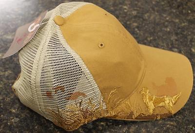 Dri Duck Wildlife Series Mesh Cap Golden Retriever Embroidery Barley 3080 NEW  Serie Mesh Cap