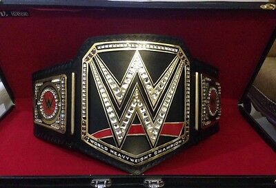 WWE World Heavyweight Championship Replica Belt Commemorative BRAND NEW WITH BOX