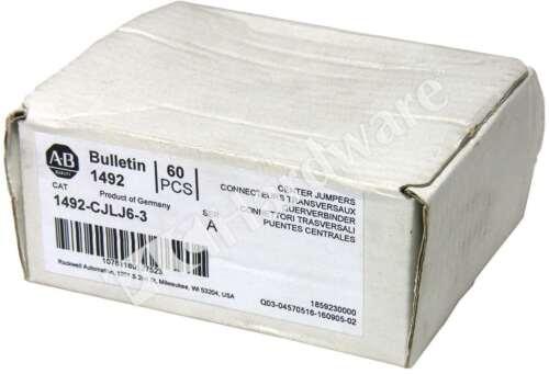 Box of 54 New Allen Bradley 1492-CJLJ6-3 /A Plug-In Center Jumper 6mm 3 Pole