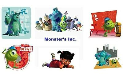 Monsters Inc 6  Pk Mike Sulley  8 X 10 T-shirt Iron on ](Sulley X Mike)