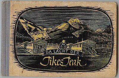 Rarität  1944 Comic deutsch Da lacht der Pikes Peak Colorado von Kriegsgefangene