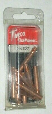 10 Victor Firepower 1444-0021 Mig Welding Contact Tips 14-30 Fits Tweco Lincoln