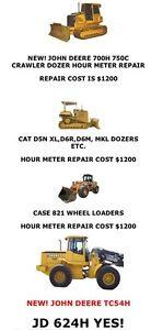 Farm Tractor and Heavy Equipment Hour Meter Repair Regina Regina Area image 2