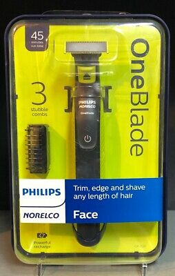 PHILIPS NORELCO OneBlade Trimmer & Shaver Face FREE SAME DAY SHIPPING NEW!