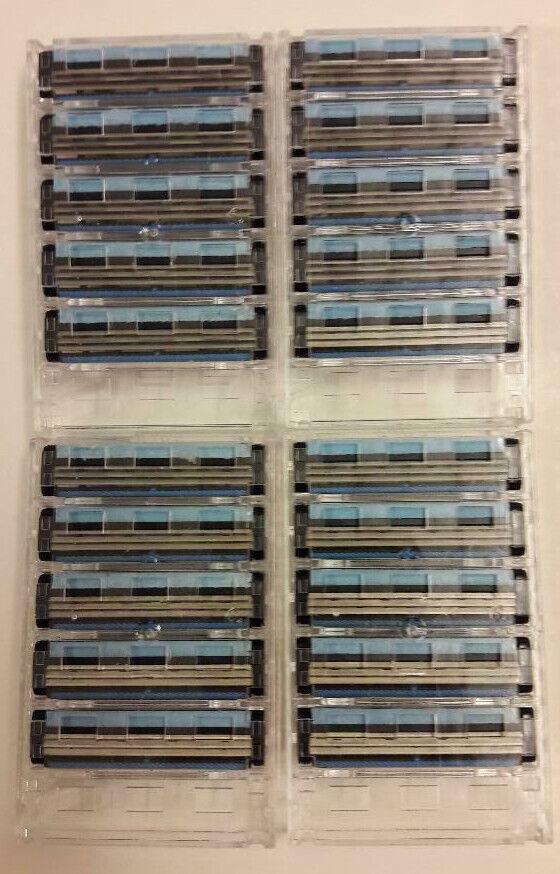 20 Rasierklingen/razor blades passen auf Gillette Sensor +  Excel ,-neu-