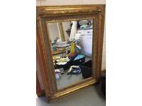 Large decorative vintage style mirror