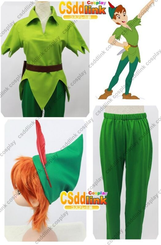 Peter Pan Cosplay costume