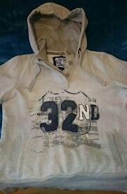 Ladies Grey 'Next' Hoodie size 12