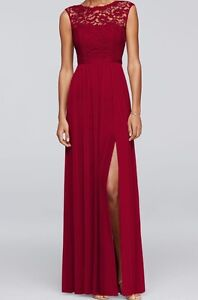 ISO Apple Red Bridesmaid dress