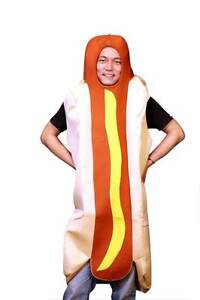ON SALE - Hotdog One Size Fits all Adults Costume Silverwater Auburn Area Preview