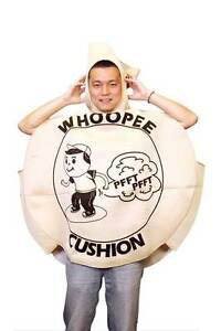 ON SALE - Whoopie Cushion One Size Fits all Adults Costume Silverwater Auburn Area Preview