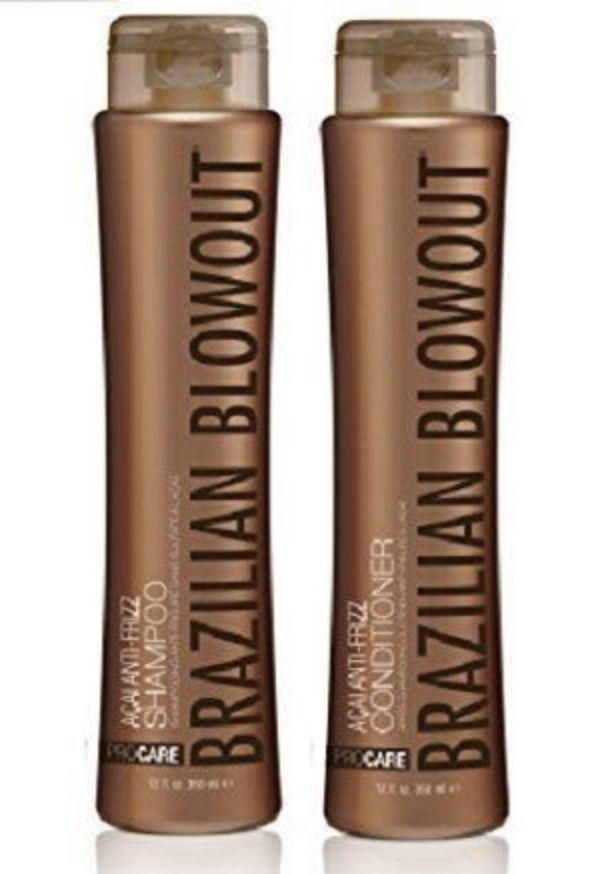Brazilian Blowout Anti-Frizz Shampoo and Conditioner 12oz SI