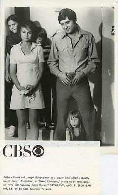 BARBARA HARRIS JOSEPH BOLOGNA AND KIDS MIXED COMPANY 1979 CBS TV PHOTO