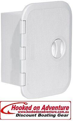 Storage Box & Tackle Locker 280 x 375mm 160mm deep White