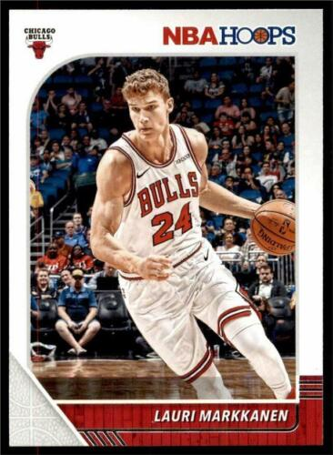 2019-20 Panini NBA Hoops Base #27 Lauri Markkanen - Chicago