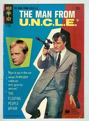 The Man From Uncle  8 Photo Cover 1966