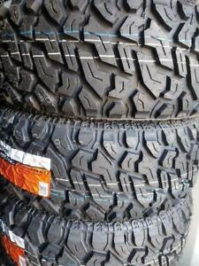 33X12.50R20 BRAND NEW POWERTRAC MUD TERRAIN TIRES 33 12 50 20 LT 33X12 50R20 M/T 33 INCH 10 PLY 33 12 5R20 33 1250 20
