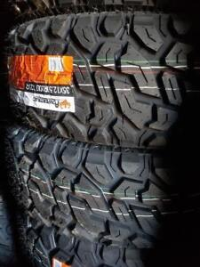 35X12.50R20 BRAND NEW POWERTRAC MUD TERRAIN TIRES 35 12 50 20 LT 35X12 50R20 M/T 35 INCH 10 PLY 35 12 5R20 35 1250 20