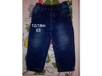boys jeans 12/18 months