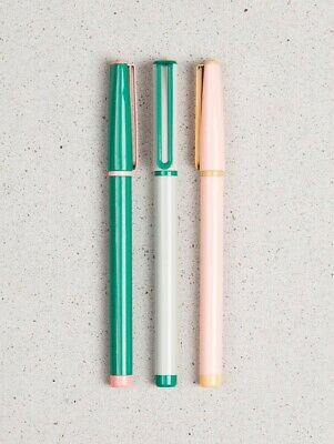Designer Felt Tip Pens By U Brands - Set Of 3
