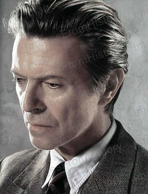 8x10 Print David Bowie Profile Portrait #DB73